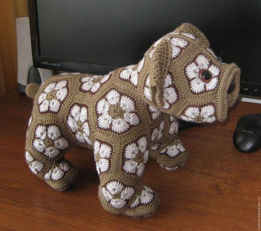 Игрушки животные, ручной работы. Ярмарка Мастеров - ручная работа. Купить Собака. Handmade. Комбинированный, сова, лошадь, вязаная игрушка