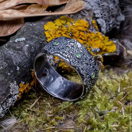 Кольца ручной работы. Ярмарка Мастеров - ручная работа. Купить Кольцо «Хедера» из серебра. Handmade. Серебряный, серебро ручной работы