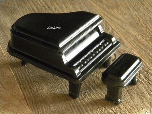 Мыло ручной работы. Ярмарка Мастеров - ручная работа. Купить РОЯЛЬ (фортепиано), сувенирное мыло .. Handmade. Черный, фортепиано