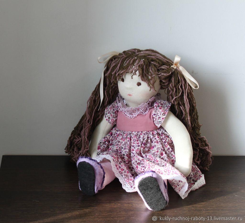 Game textile doll handmade Masha, Waldorf Dolls & Animals, Ulan-Ude,  Фото №1