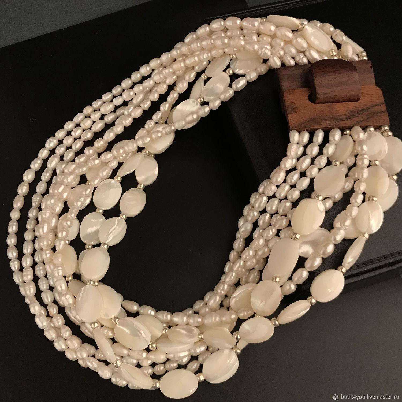 f899cfec7 Livemaster - handmade. Buy Choker Style natural pearls