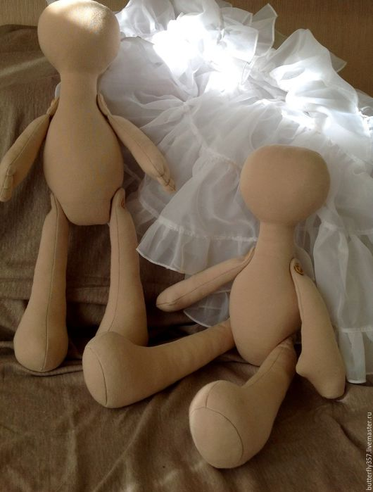 Куклы и игрушки ручной работы. Ярмарка Мастеров - ручная работа. Купить Заготовка текстильной куклы. Handmade. Бежевый, текстильная кукла