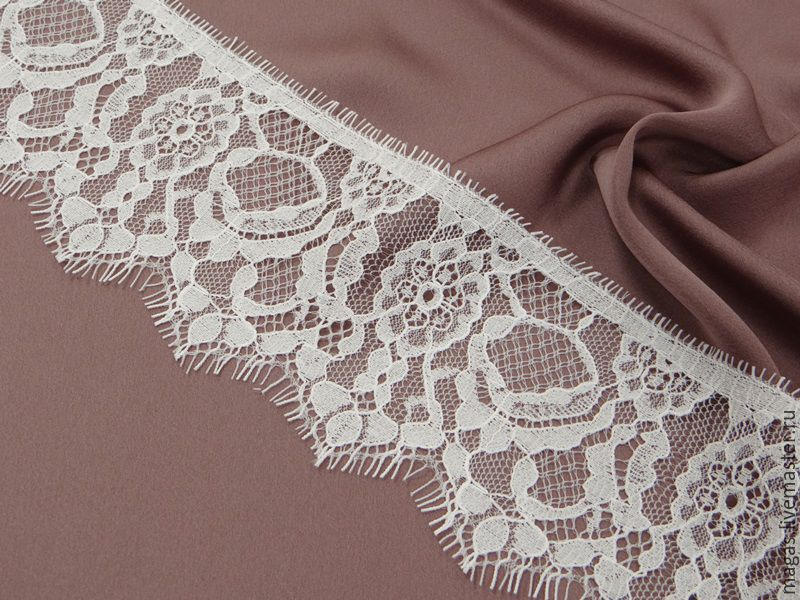 LACE CHANTILLY WIDTH 8 CM - SOPHIE HELETTE, Lace, Moscow,  Фото №1