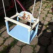 Для дома и интерьера ручной работы. Ярмарка Мастеров - ручная работа Качели детские. Handmade.