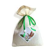 Для дома и интерьера handmade. Livemaster - original item pouch embroidered Daisy pouch for gift to buy.. Handmade.