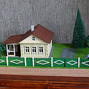 Сувениры и подарки handmade. Livemaster - original item The layout of a country house with landscape No. №2. Handmade.