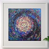 Картины и панно handmade. Livemaster - original item Picture the Space without a frame. The universe. Handmade.