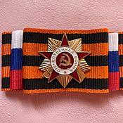 Подарки к праздникам handmade. Livemaster - original item Brooch to celebrate Victory Day. Handmade.