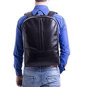 Сумки и аксессуары handmade. Livemaster - original item Backpack leather male