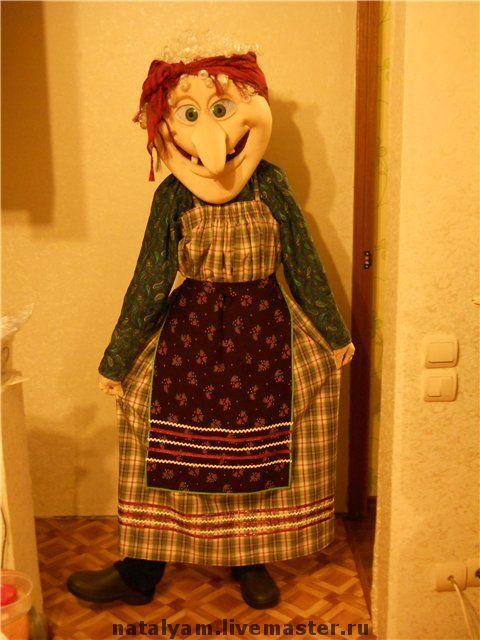 "Ростовая кукла ""Баба-яга"", Куклы, Самара,  Фото №1"