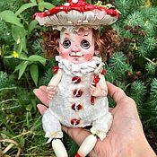 Куклы и пупсы ручной работы. Ярмарка Мастеров - ручная работа Мухоморочка. Handmade.