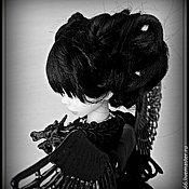 Куклы и игрушки ручной работы. Ярмарка Мастеров - ручная работа Black Angel gothic doll. Handmade.
