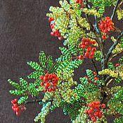 Цветы и флористика ручной работы. Ярмарка Мастеров - ручная работа рябина. Handmade.