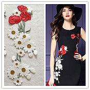 Материалы для творчества handmade. Livemaster - original item Matchless embroidered applique, Roman. Handmade.