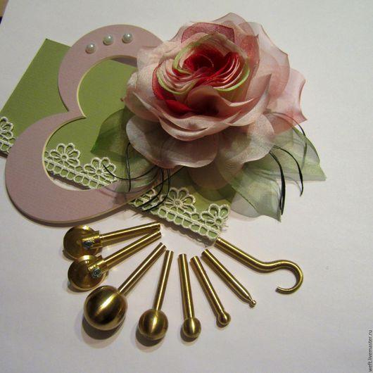 Бульки бронзовые, бульки для цветоделия, булька, инструмент для цветоделия