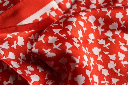 """Шитье ручной работы. Ярмарка Мастеров - ручная работа. Купить Шелковый платок Max Mara """"Максимилиан"""". Handmade. Maxmara, италия"""