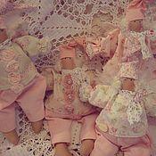 Куклы и игрушки ручной работы. Ярмарка Мастеров - ручная работа Гномики в стиле шебби. Handmade.