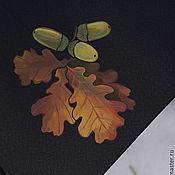 Аксессуары ручной работы. Ярмарка Мастеров - ручная работа Зонт Плоды и листья. Handmade.