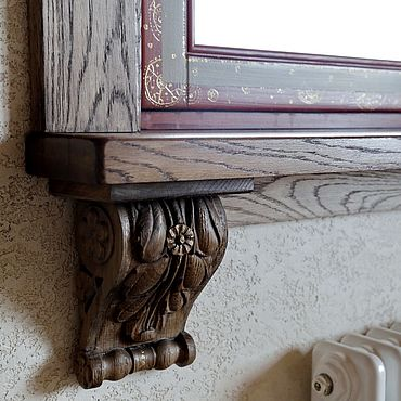 Для дома и интерьера ручной работы. Ярмарка Мастеров - ручная работа Оформление окон , резьба и роспись. Handmade.