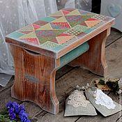 """Для дома и интерьера ручной работы. Ярмарка Мастеров - ручная работа Банкетка """"Country living"""" (скамейка, лавочка, кантри стиль). Handmade."""