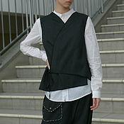 """Одежда ручной работы. Ярмарка Мастеров - ручная работа Жилет """" Путь самурая"""". Handmade."""