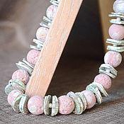 Украшения handmade. Livemaster - original item Necklaces and earrings made of polymer clay
