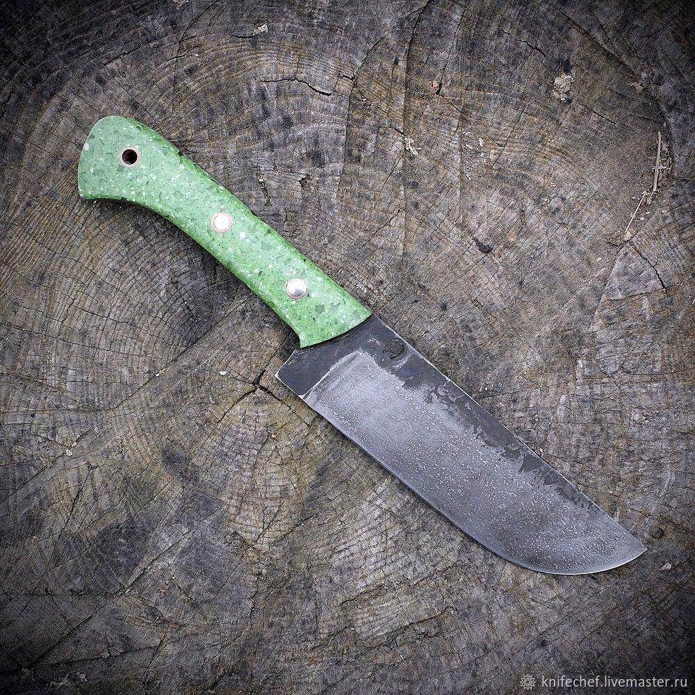 Кухня ручной работы. Ярмарка Мастеров - ручная работа. Купить Кухонный нож 'ПЧАК 7.8'. Handmade. Нож пчак