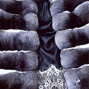 Одежда ручной работы. Ярмарка Мастеров - ручная работа Шуба , полушубок из шиншиллы. Handmade.