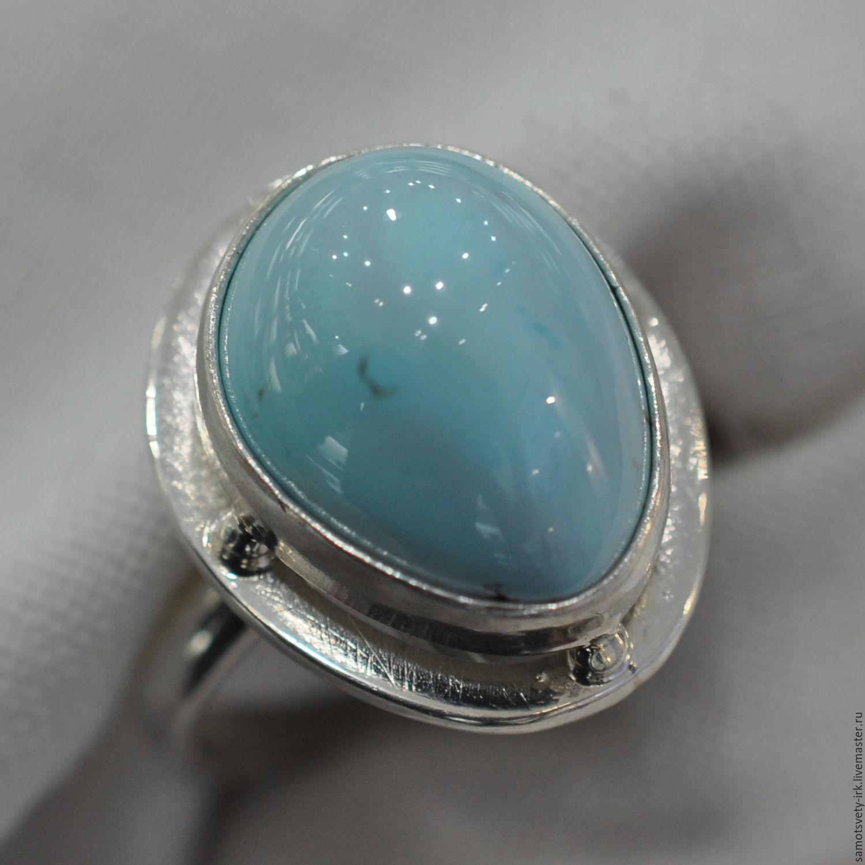 Ring with turquoise Heaven, Rings, Irkutsk,  Фото №1