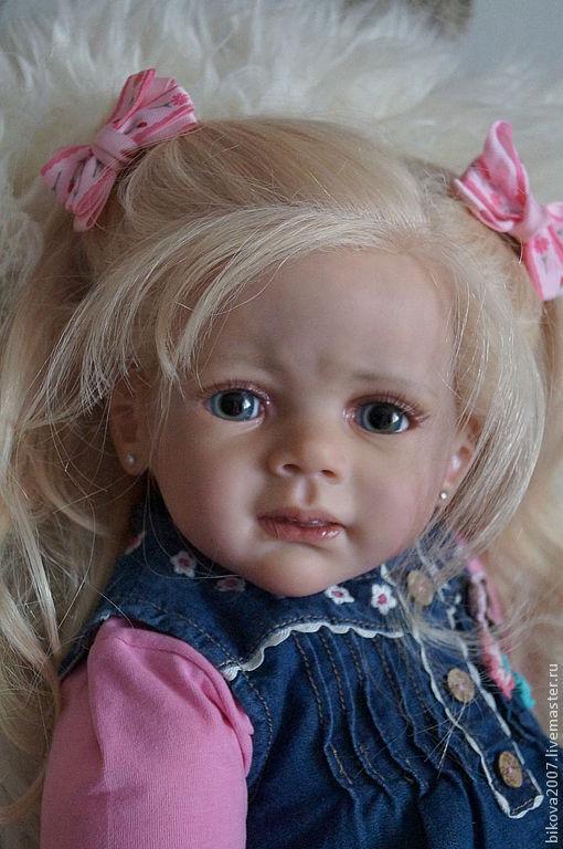 Куклы-младенцы и reborn ручной работы. Ярмарка Мастеров - ручная работа. Купить Фридолин!. Handmade. Белый, винил
