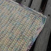 """Для дома и интерьера ручной работы. Ярмарка Мастеров - ручная работа вязаный коврик """"Дор Блю"""". Handmade."""