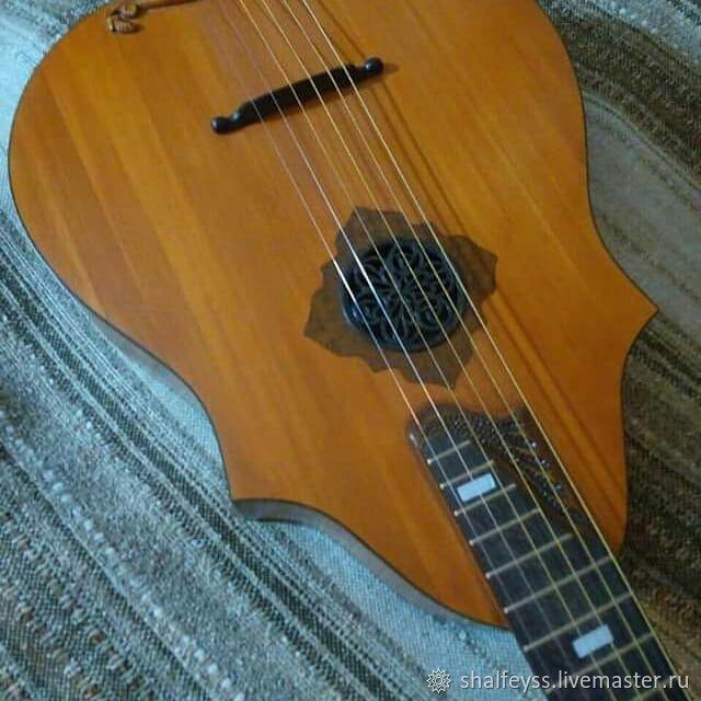 Струнные инструменты ручной работы. Ярмарка Мастеров - ручная работа. Купить Гитара. Handmade. Гитара, клён