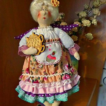 Куклы и игрушки ручной работы. Ярмарка Мастеров - ручная работа Тильды: Тильда хозяюшка. Handmade.