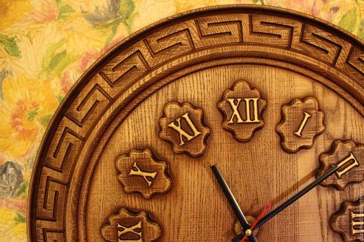 """Часы для дома ручной работы. Ярмарка Мастеров - ручная работа. Купить Часы """"Лабиринт-2"""". Handmade. Часы, часы резные"""