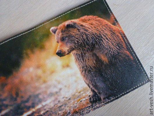 Кожаная обложка для паспорта-1
