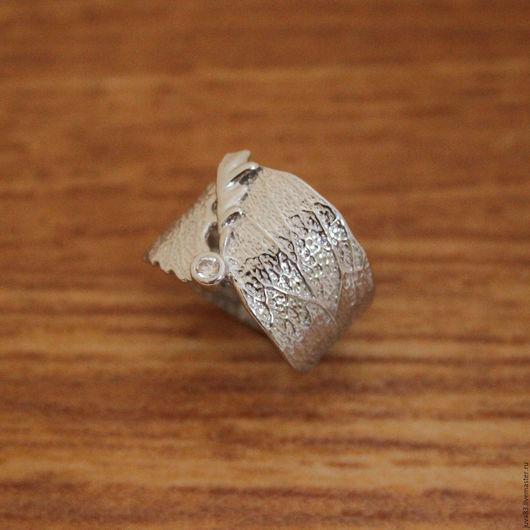 Кольца ручной работы. Ярмарка Мастеров - ручная работа. Купить Серебряное кольцо Флора, серебро 925. Handmade. Серебряный, кольцо