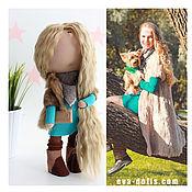 Куклы и игрушки ручной работы. Ярмарка Мастеров - ручная работа Портретная текстильная кукла на заказ. Handmade.