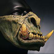 Clothing handmade. Livemaster - original item Mask of Guldan Orc from the Warcraft movie Warcraft. Handmade.