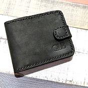 Сумки и аксессуары handmade. Livemaster - original item Wallet with magnetic button. Handmade.