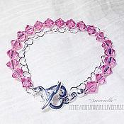 Украшения handmade. Livemaster - original item Bracelet Hearts. Handmade.