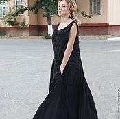 """Одежда handmade. Livemaster - original item Бохо платье """"Королёк"""" с застроченным верхом. Handmade."""