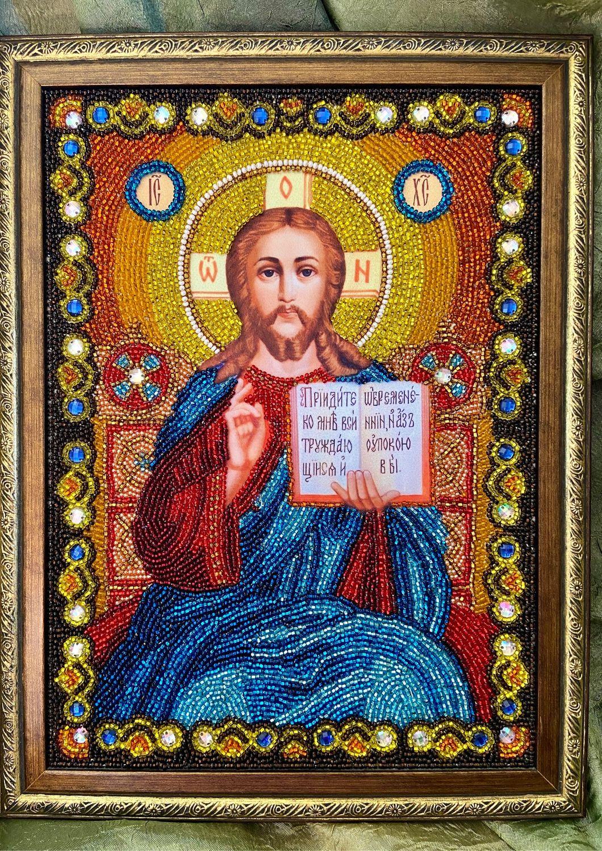 Икона «Иисус Христос Господь Вседержитель», Иконы, Пенза,  Фото №1