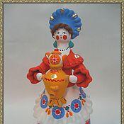 Русский стиль ручной работы. Ярмарка Мастеров - ручная работа Барыня с самоваром. Handmade.