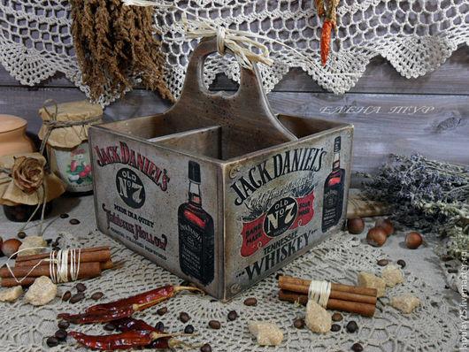 """Корзины, коробы ручной работы. Ярмарка Мастеров - ручная работа. Купить """"Винтажная коллекция-1"""" Короб подставка. Handmade. Короб"""