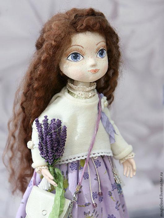 Коллекционные куклы ручной работы. Ярмарка Мастеров - ручная работа. Купить Виолетта. Handmade. Авторская кукла, кожа, ручная работа