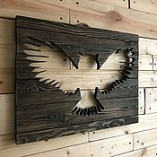 Картины и панно handmade. Livemaster - original item Picture panel Owl. Handmade.