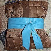 Аксессуары ручной работы. Ярмарка Мастеров - ручная работа голубой пояс. Handmade.
