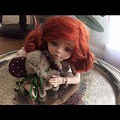 Куклы и игрушки ручной работы. Ярмарка Мастеров - ручная работа Яся, авторская шарнирная кукла. Handmade.