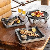 Для дома и интерьера handmade. Livemaster - original item Grill and barbecue set, 6 items. Handmade.