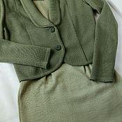 Одежда ручной работы. Ярмарка Мастеров - ручная работа Костюм платье и жакет. Handmade.